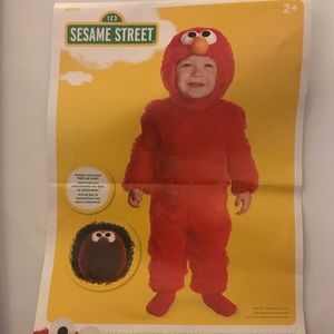 Elmo costume - 2T